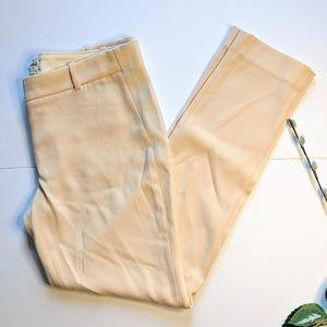 Wilfred Aritzia silk trim dress pant size 6